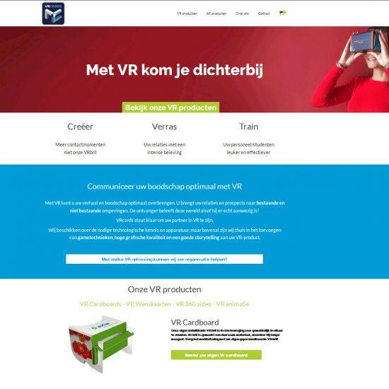 VRcards - portfolio